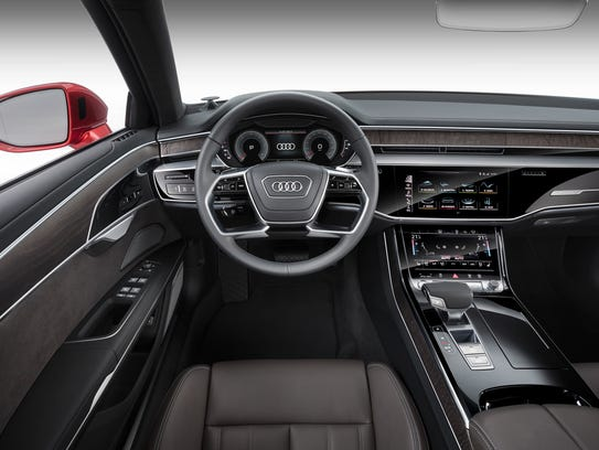 2019 Audi A8 has 'all-glass' centre console with touch