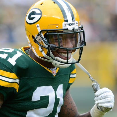 Packers safety Ha Ha Clinton-Dix (21) smiles after