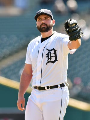 Tigers pitcher Michael Fulmer had a rough first half this season, posting a 3-9 record with a 4.50 ERA  in 19 starts.