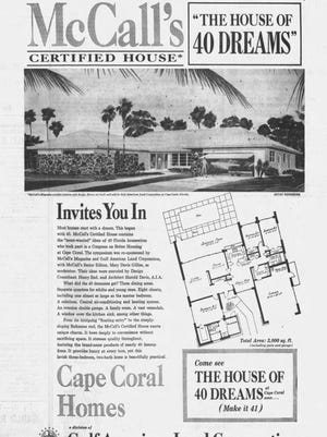 Four days of highly publicized events led up to the formal dedication and ribbon-cutting ceremony for the House of 40 Dreams in March of '65,