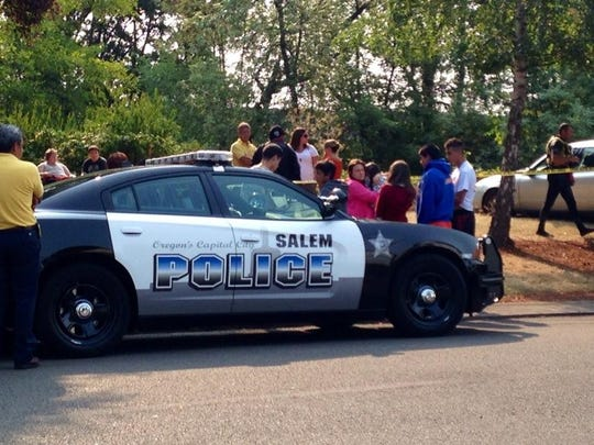 A body of a boy has been found in Salem's Mill Creek.