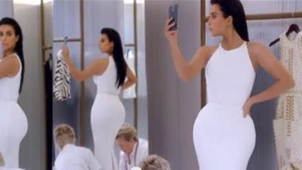 Kim Kardashian's T-Mobile commercial
