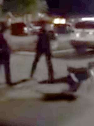 A Cape Coral police officers is on administrative leave after a video surfaced of him throwing a woman to the pavement of a parking lot.