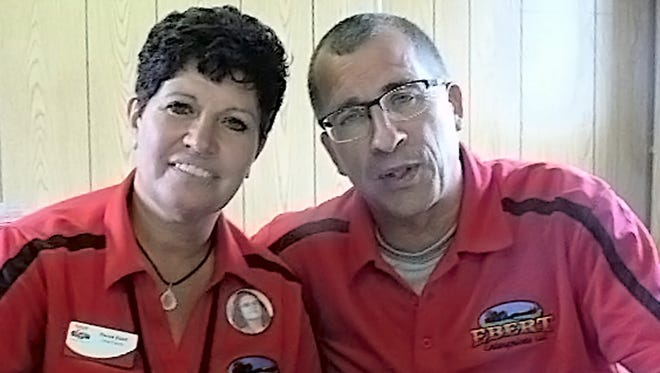 Randy and Renee Ebert and their family worked long and hard to successfully host the 2017 Wisconsin Farm Technology Days at their dairy near Algoma.