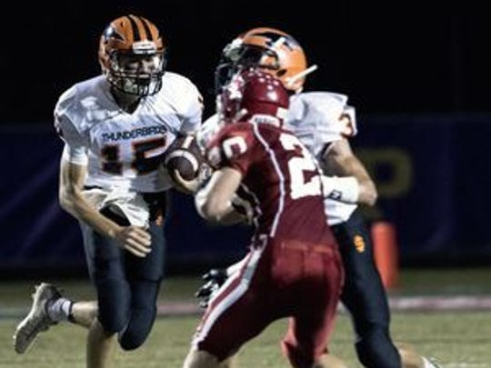 Connor Kurki helped Iola-Scandinavia roll to a 50-7 win over Shiocton on Friday.