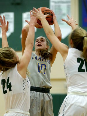 Carmel's Amy Dilk is among the top-rated juniors in the nation,