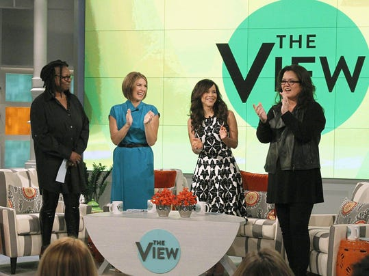 WHOOPI GOLDBERG, NICOLLE WALLACE, ROSIE PEREZ, ROSIE O'DONNELL