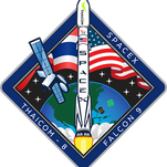 Official Thaicom 8 mission patch.