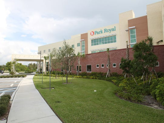 Park Royal Hospital, Lee County's sole inpatient psychiatric hospital