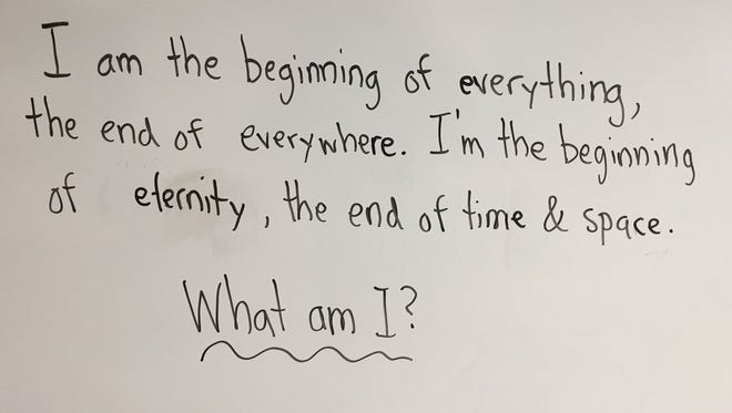 A California teacher posed this question to first grade students and was surprised by the answers he received.