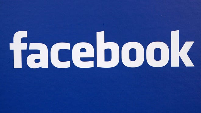 In this Nov. 6, 2007 photo, the Facebook logo is displayed at a Facebook announcement in New York. Europe's highest court on Oct. 6, ruled in favor of an Austrian law student who claims a trans-Atlantic data protection agreement doesn't adequately protect consumers.