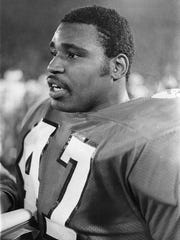 Bubba Brown (47) recorded 22 total tackles in Clemson's 1978 Gator Bowl win over Ohio State.