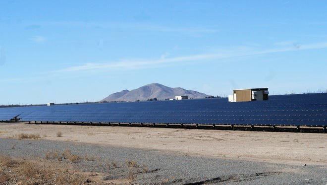 PNM's Deming Solar Center went live in 2011 and expanded in 2013. It is located near Columbus Road, south of town.