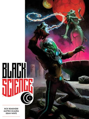 """Scientists are faced with a neverending series of weird creatures and worlds in Rick Remender's """"Black Science."""""""
