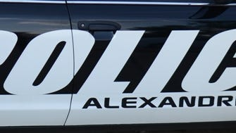 A young child was ejected during a single-vehicle crash early Tuesday morning, according to Alexandria police.