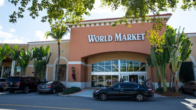 World Market at Coconut Point mall in Estero, Fla., is slated to close on Jan. 21.