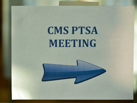 Career Magnet School PTSA held a meeting on Tuesday, April 4, 2017 to discuss the school's future.