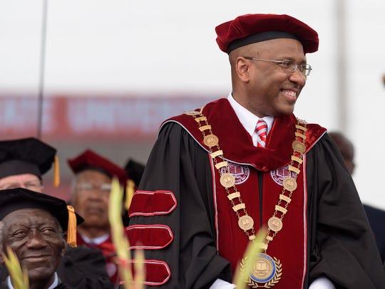 Harry Williams, president of Delaware State University,