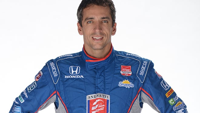 Justin Wilson started sixth in this year's Indianapolis 500 for Andretti Autosport