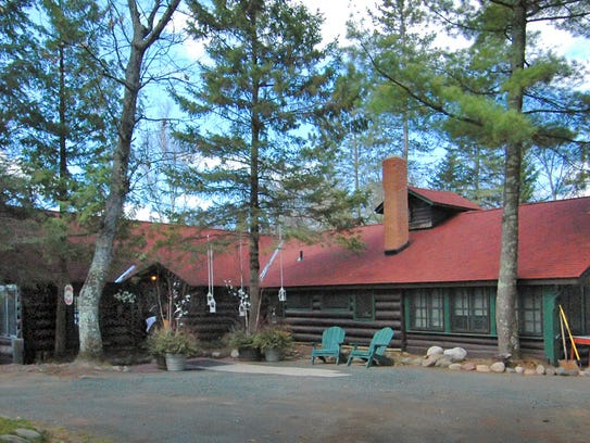 Spider Lake Lodge sits above  Spider Lake east of Hayward.