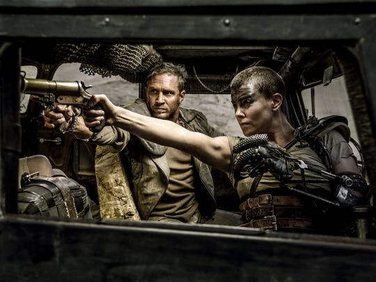 "Tom Hardy and Charlize Theron in a scene from ""Mad"