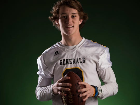 The AISA all-metro player of the year is Autauga Academy