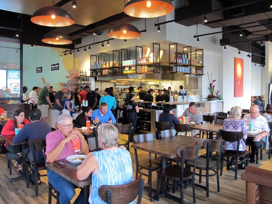 Pei Wei, 6821 Collier Blvd., opened Monday at Restaurant Row in East Naples.
