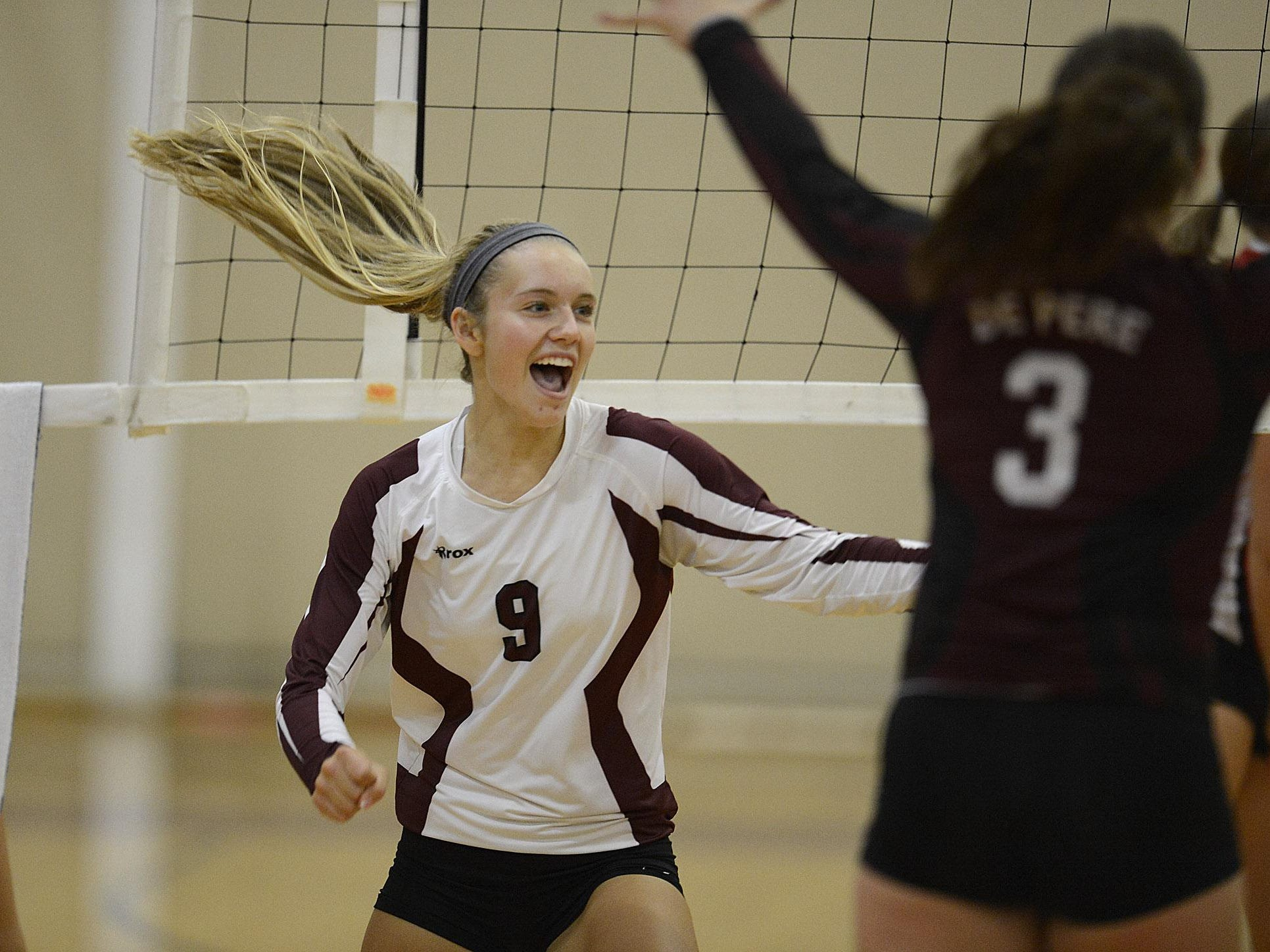 De Pere junior Hailey Newton received first-team all-FRCC honors.