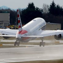 American Airlines' Dreamliner takes off on test flight