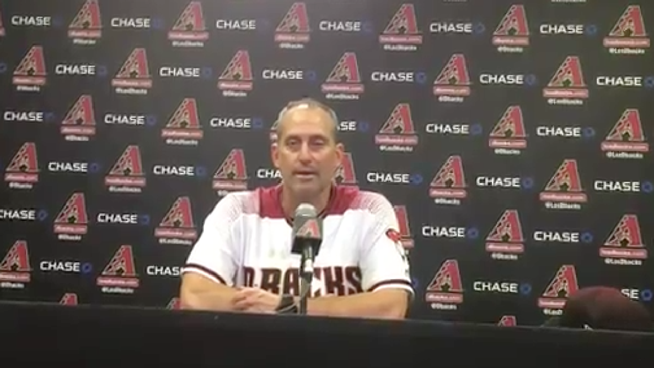 Torey Lovullo on Zack Greinke's strong outing vs. the Astros