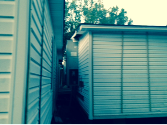 Congregation Bais Chinuch Ateres Bnos classroom trailers at 261 Route 306 in Monsey in 2015.