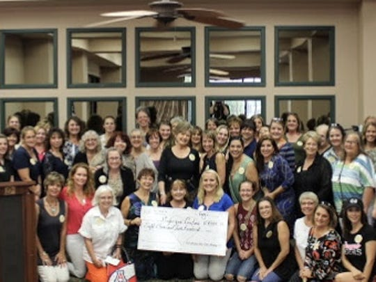 100 Women Who Care Alamogordo held their first quarterly meeting Aug. 1 at the Alamogordo First National Bank Atrium.