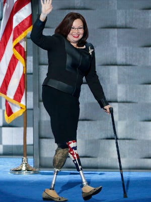 Sen. Tammy Duckworth was among Democrats voicing skepticism Friday about President Trump's diplomatic foray with North Korea. At the Democratic national convention in 2016, she accused Trump of inflaming tensions rather than pursuing diplomacy.