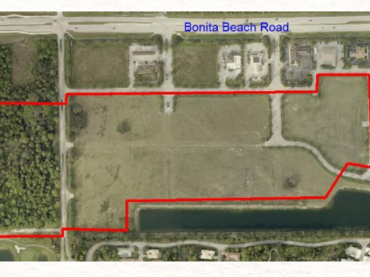 Site currently under consideration for new Bonita Springs High School is just east of I-75 and to the south of Bonita Beach Road.
