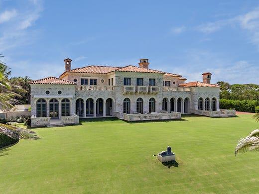 Here S A Dream Home For This Palm Beach Island