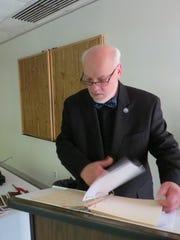 Robert Holmberg, dining-service instructor at Oxnard