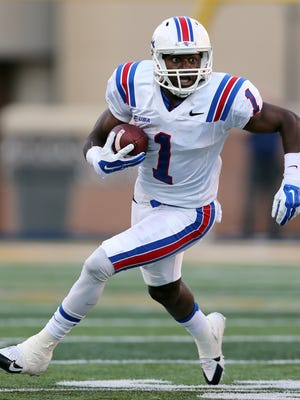 Louisiana Tech wide receiver Carlos Henderson is expected to play a big role in the Bulldogs' offense this year.