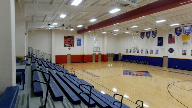 Chuck Mosey gymnasium at Seton Catholic High School Tuesday, Jan. 26, 2016, in Richmond.