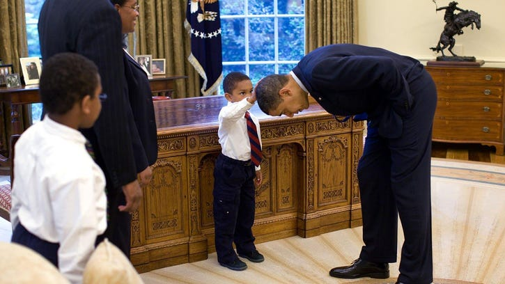 Barack Obama has shown black children there are no limits.