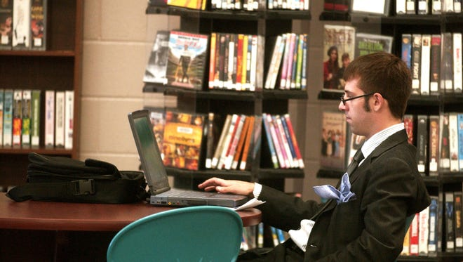 Libraries are equipped with computers, but you can bring your own, too.