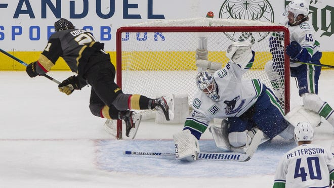 Game 3 of the Vancouver Canucks and Vegas Golden Knights playoff series was supposed to be played Thursday, but was postponed to acknowledge the police shooting of Jacob Blake.