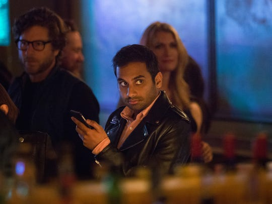 In this image released by Netflix, Aziz Ansari appears