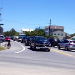 Saturday started a bit chilly but became a perfect sunny low-humidity day to relax on the Lewes beach. The beach and public parking lot at Lewes was so full on Saturday that police allowed no more cars on Savannah Road beyond Cape Henlopen Drive for a short time.