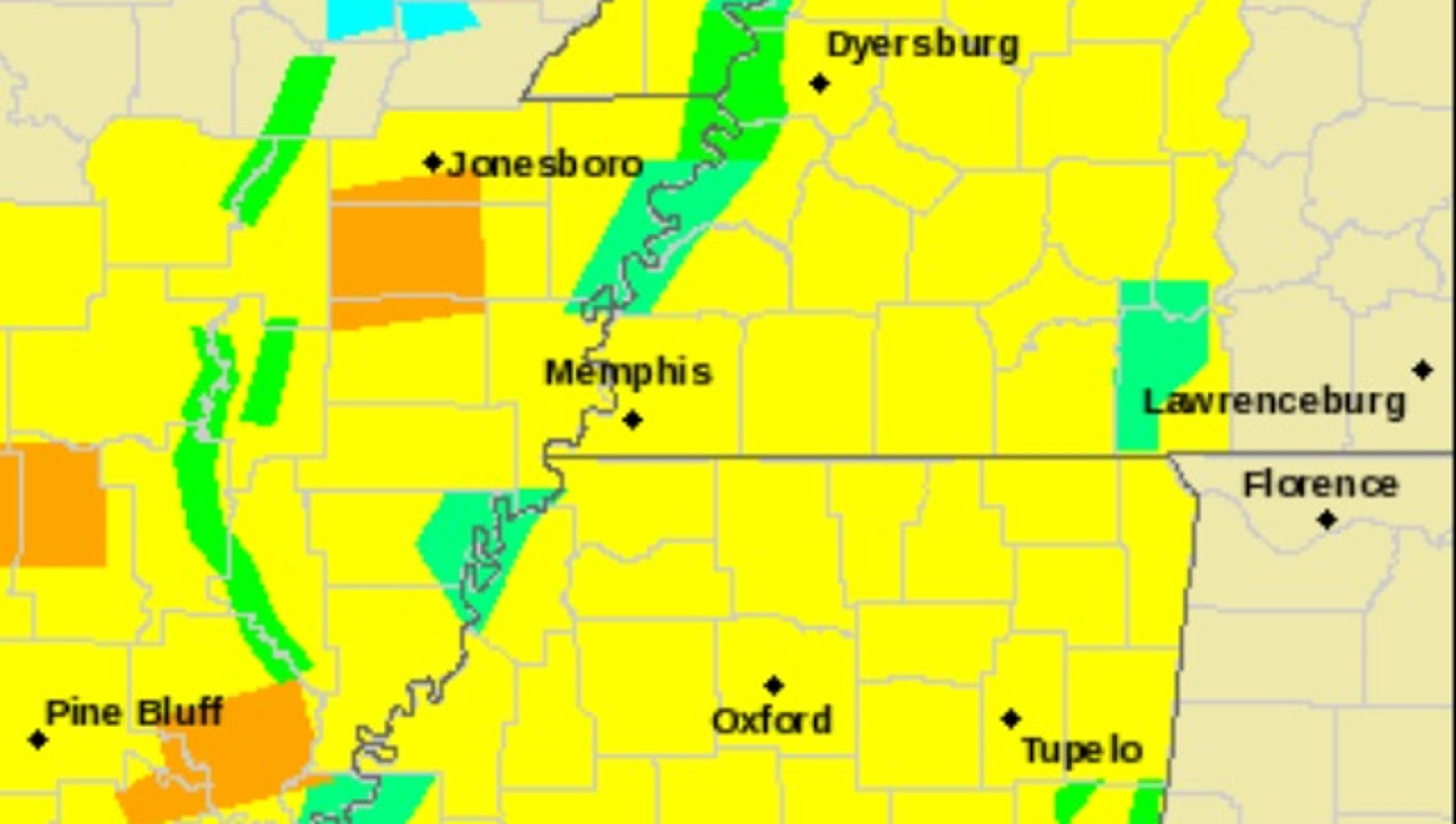 Madison County West Tennessee Under Tornado Watch