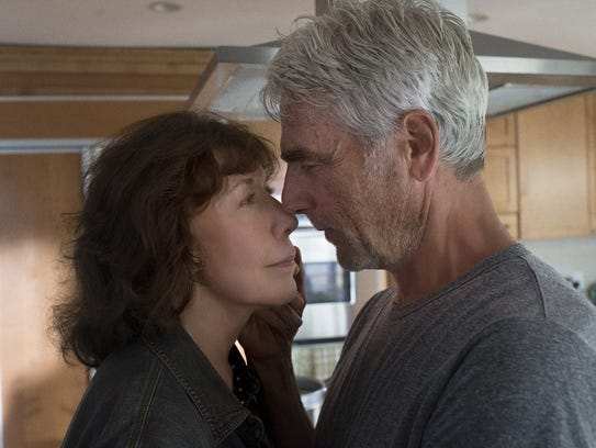 Characters played by Lily Tomlin and Sam Elliott get