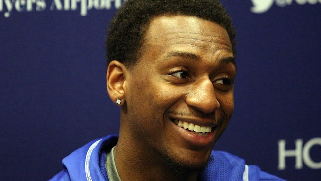 FGCU's Bernard Thompson reflects on making the game winning shot against Stetson on Friday at Alico Arena.