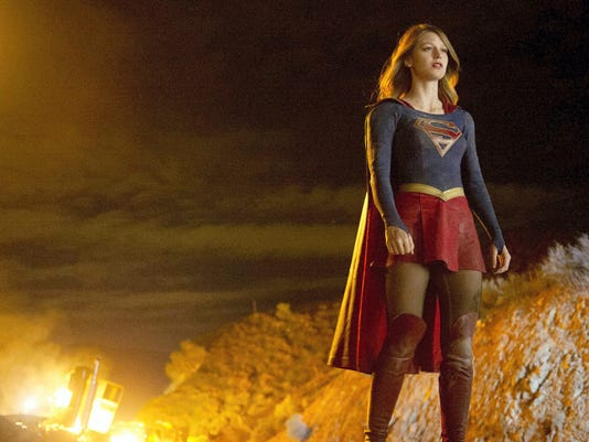 "Kara Zor-El (Melissa Benoist) plays Superman's cousin who, after 12 years of keeping her powers a secret on Earth, decides to finally embrace her superhuman abilities and be the hero she was always meant to be on ""Supergirl."""