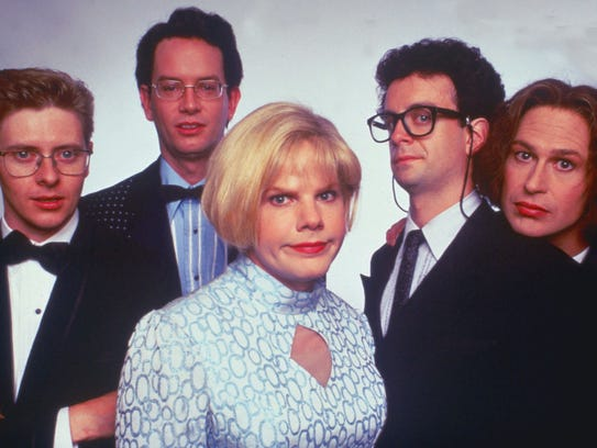 A 1996 publicity photo for the The Kids in the Hall