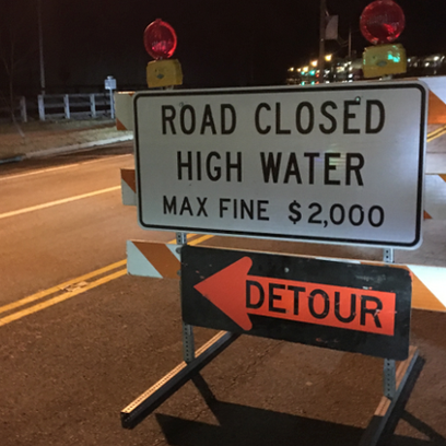 Flood warning: Some roads close as Ohio River floods