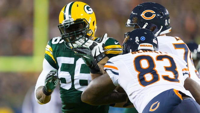 OLB Julius Peppers has brought a boost to the Packers pass rush.